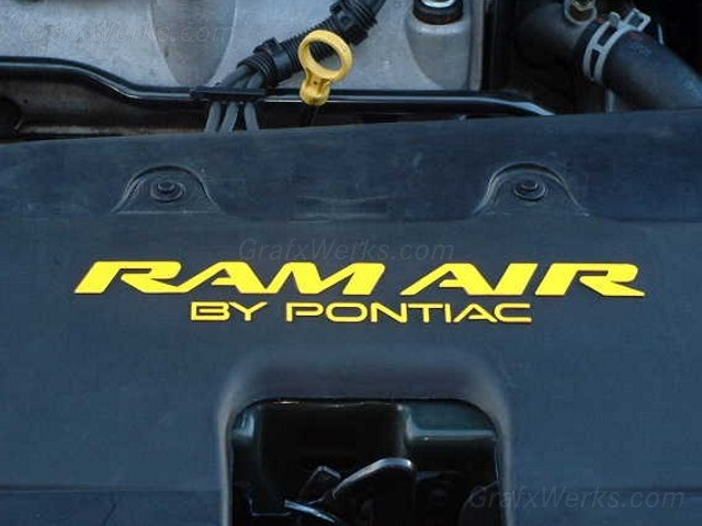 """Ram Air By Pontiac"" Overlay"