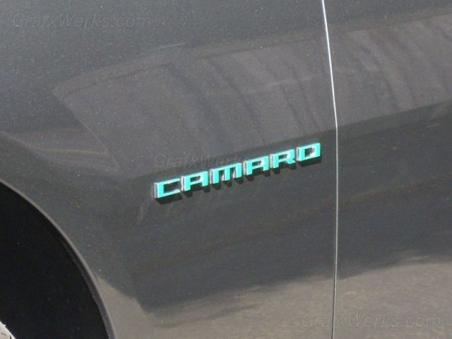 """Camaro"" Badge Overlays"