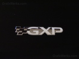 """GXP"" Trunk Badge Overlay"