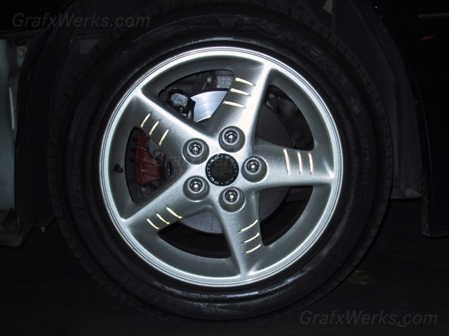 Wheel Spoke Groove Inlays