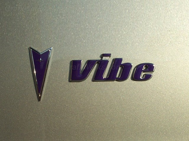 """Vibe"" Liftgate Badge Overlay"