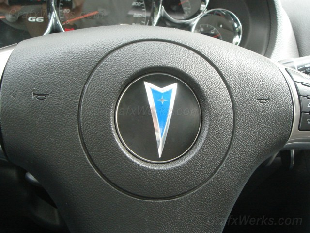 Steering Wheel Arrowhead Overlay
