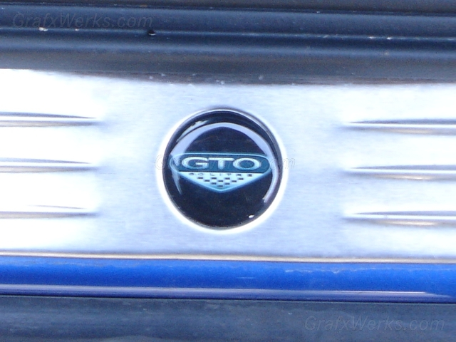 GTO Door Sill Emblems