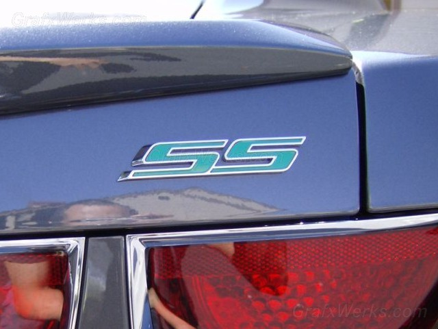 """SS"" Badge Inlay"