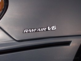 """Ram Air V6"" Badge Overlays"