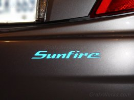 """Sunfire"" Rear Bumper Inlay (Coupe)"