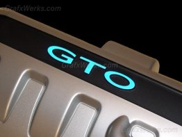 """GTO"" Engine Cover Overlays"