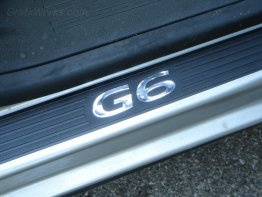 """G6"" Door Sill Inlay Decals (Plastic Sills)"
